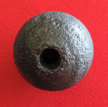 Confederate 12 Pound Cannon Ball From the Battle of Tunnel Hill, GA