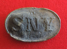 1850 State of New York (SNY) Belt Buckle