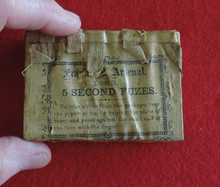 1863 Frankford Arsenal Fuze Pack