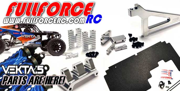 Kraken Vekta Upgrade parts direct from Fullforce RC!