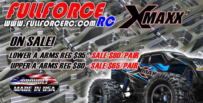 Traxxas X-MAXX Aluminum Arms on sale now!