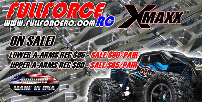 Traxxas X-MAXX Aluminum Arms on sale now!