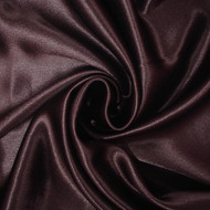 Poly Crepe Back Satin - Brown