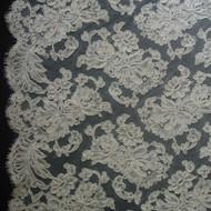 French Alencon Lace - Annabel