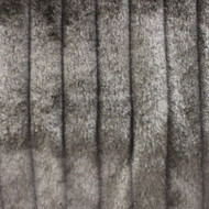 Brown Grooved Mink Faux Fur