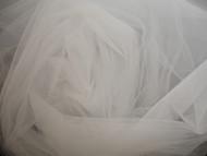 Bridal Tulle - Silk White