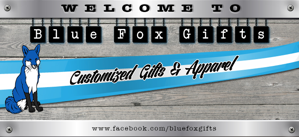 Welcome to Blue Fox Gifts Banner