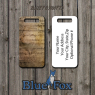 Blue Fox Gifts Aged Sheet Music Bag Tag