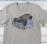 Athletic heather Thumbnail R/C Truggy TRUGLIFE T-Shirt | Blue Fox Gifts