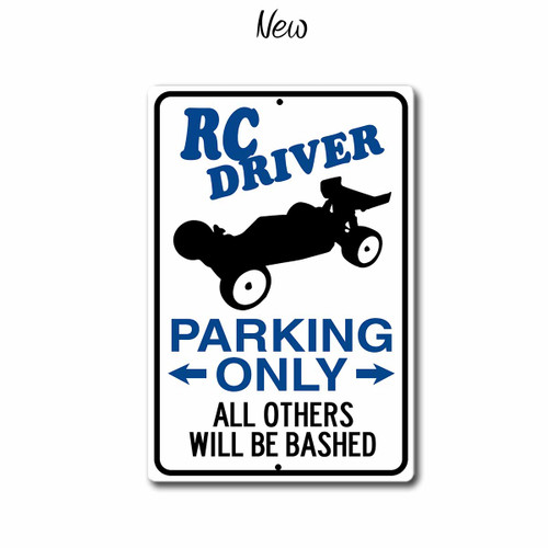 Rc Driver Parking Only sign with 2wd Buggy, New style | Blue fox Gifts