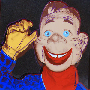 MYTHS: HOWDY DOODY FS II.263 BY ANDY WARHOL