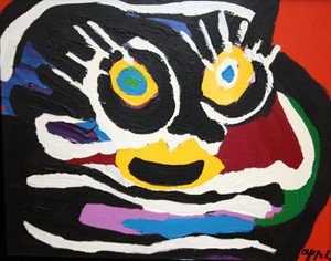 UNTITLED I BY KAREL APPEL