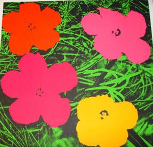 FLOWERS FS II.6 BY ANDY WARHOL