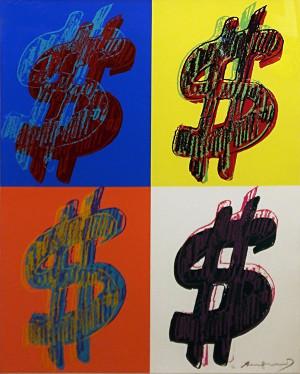 $ QUANDRANT FS II.284 BY ANDY WARHOL