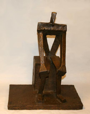 SEATED MAN BY HARRIET KITTAY