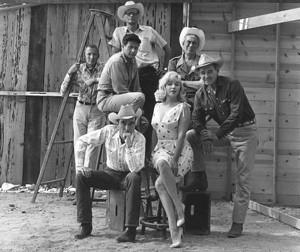 THE MISFITS, RENO NEVADA, 1960 BY ELLIOTT ERWITT