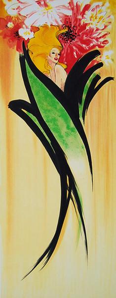 LES IRIS BY RENE GRUAU