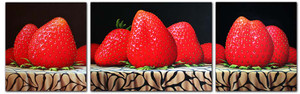 STRAWBERRY TRIPTYCH BY DAN MEYER