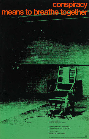 CONSPIRACY MEAN TO BREATHE TOGETHER BY ANDY WARHOL