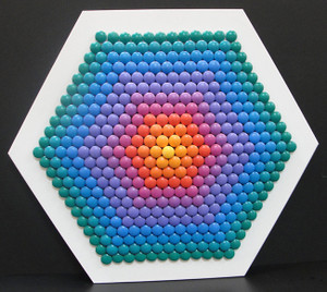 307 HEXAGON RAINBOW BY STAN SLUTSKY