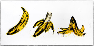 BANANA SPLIT BY MR. BRAINWASH