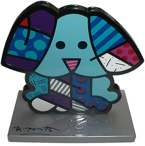 BLUE DOG BY ROMERO BRITTO