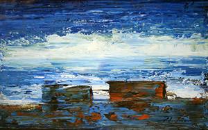THE SEA BY PEDRO LAZARO