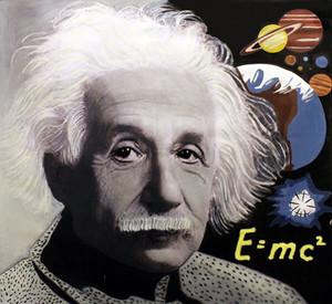 EINSTEIN E=MC2 BY STEVE KAUFMAN