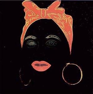 MYTHS: MAMMY (DIAMOND DUST) FS II.262 BY ANDY WARHOL