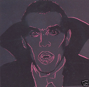 MYTHS: DRACULA FS II.264 BY ANDY WARHOL