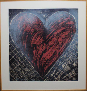 A WOODCUT IN THE SNOW BY JIM DINE