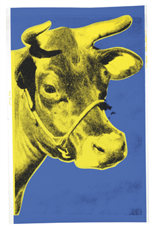 COW WALLPAPER FS II.12 BY ANDY WARHOL