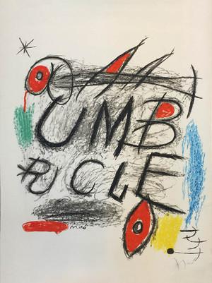 UMBRACLE BY JOAN MIRO