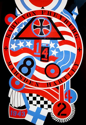 THE HARTLEY ELEGIES - KvF II BY ROBERT INDIANA