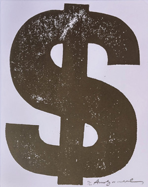 $ (1) Dollar FS II.277 BY ANDY WARHOL