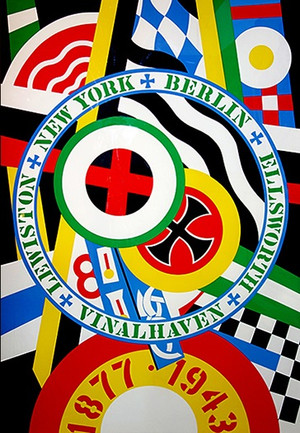 THE HARTLEY ELEGIES - KvF IV BY ROBERT INDIANA