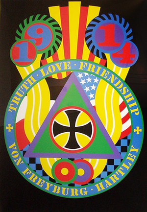 THE HARTLEY ELEGIES - KvF V BY ROBERT INDIANA