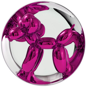 BALLOON DOG (MAGENTA) BY JEFF KOONS