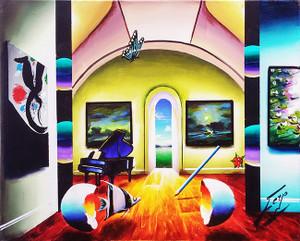 PIANO BY THE DOOR BY FERJO