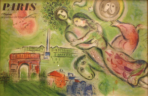 ROMEO AND JULIET BY MARC CHAGALL