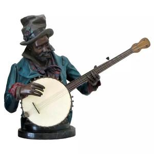BANJO PLAYER BY A MATTHEWS