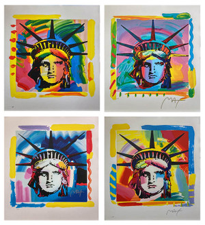LIBERTY SUITE (SUITE OF 4) BY PETER MAX