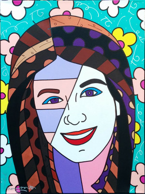 KATIE BY ROMERO BRITTO