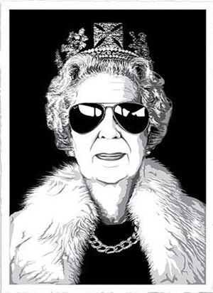 QUEEN AVIATOR BY MR. BRAINWASH