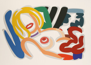 BIG BLONDE WITH CHOKER BY TOM WESSELMANN