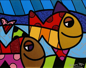COME ALONG BY ROMERO BRITTO