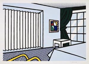 BEDROOM BY ROY LICHTENSTEIN
