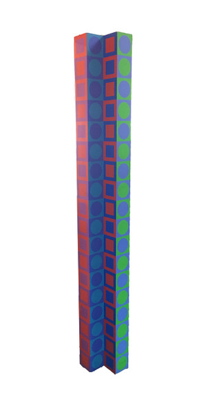 COLONNE BY VICTOR VASARELY
