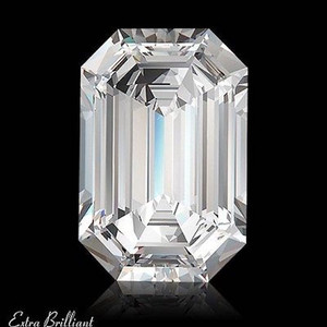 GIA Certified .51 Carat Emerald Diamond F Color VS1 Clarity Excellent Investment