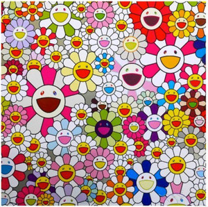 FLOWERS BLOSSOMING IN THIS WORLD  BY TAKASHI MURAKAMI